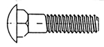 SRI Carriage Bolts Part Number CB10-24X5/8SS