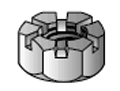 SRI Hex Castle Nuts Part Number HCN1-8SZ